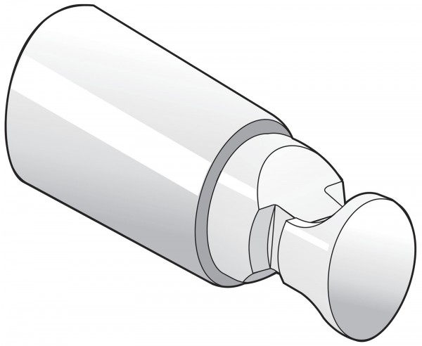 KunststoffhalterungSTN 4fachRohr Ø 15 - 28 mmRohrlücke: 11 - 22 mm