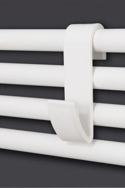 Handtuchhaken für Badkeizkörper und Duschwände