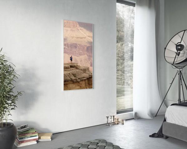 Infrarot Vertikal - mit Bildaufdruck